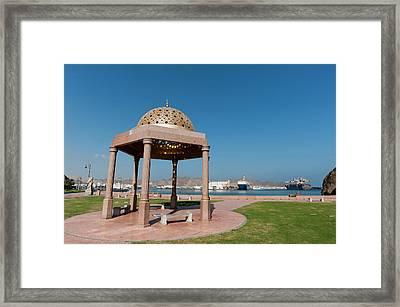 Muttrah Corniche, Muscat, Oman Framed Print by Sergio Pitamitz