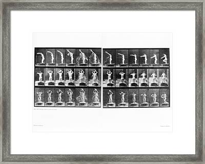 Muybridge Motion Study, 1907 Framed Print by Science Photo Library