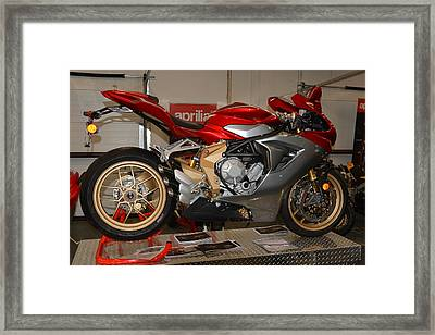 Mv Agusta Framed Print by Lawrence Christopher