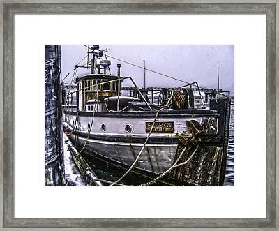 Mv Stimson R Framed Print