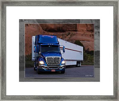 Mvt #12 Framed Print
