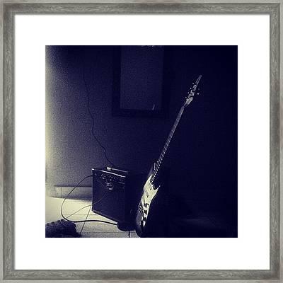 My 6 Strings #guitar #instrument Framed Print