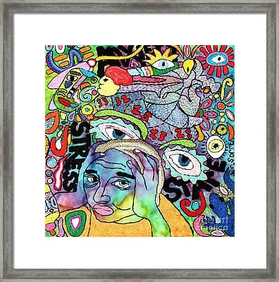 My Aching Head Framed Print by Susan Sorrell