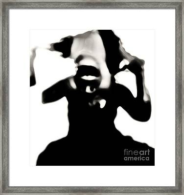 My Agony Framed Print by Jessica Shelton