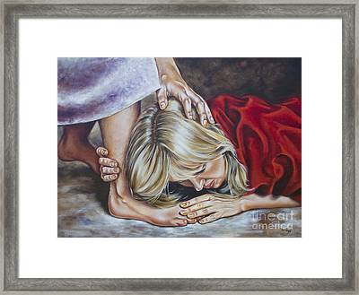 My All For Thee Framed Print by Ilse Kleyn