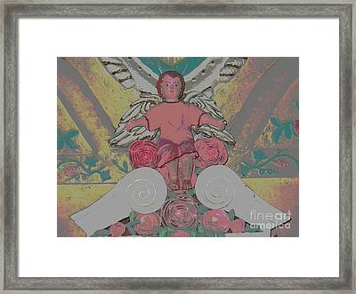 My Angel - Eglise De Sainte Anne - Church - Ile De La Reunion - Reunion Island Framed Print by Francoise Leandre