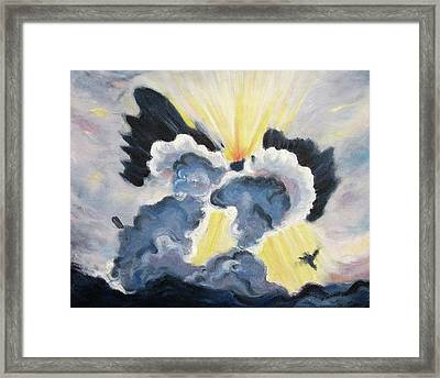 My Angel Framed Print by Suzanne  Marie Leclair