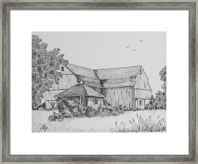 My Barn Framed Print