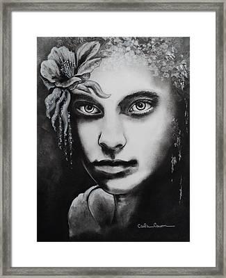 My Beautiful Belladonna Framed Print by Carla Carson