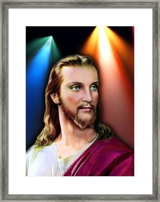 My Beautiful Jesus 3 Framed Print by Karen Showell
