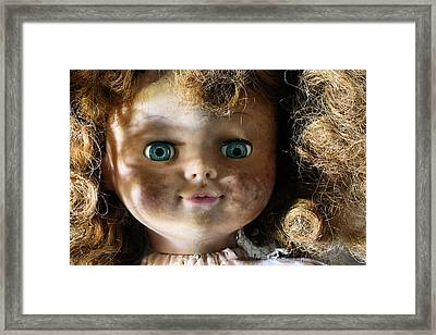 My Bedroom Eyes Framed Print by JC Findley