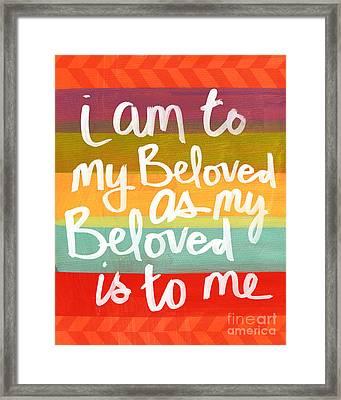 My Beloved Framed Print