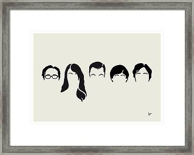 My-big-bang-hair-theory Framed Print by Chungkong Art