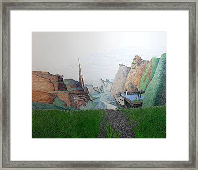 My Bigger Back Yard Framed Print