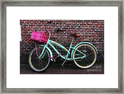 My Bike Framed Print by John Rizzuto