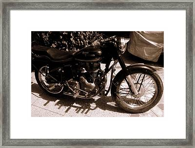 Royal Enfield Bullet 350 Framed Print