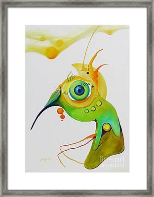 My Bird Framed Print