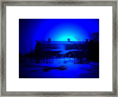 My Blue Haven Framed Print
