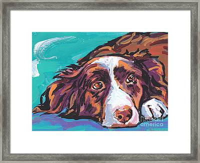 My Border Framed Print by Lea S
