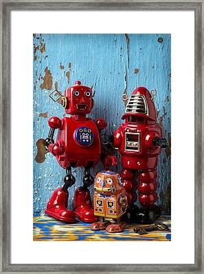 My Bots Framed Print by Garry Gay