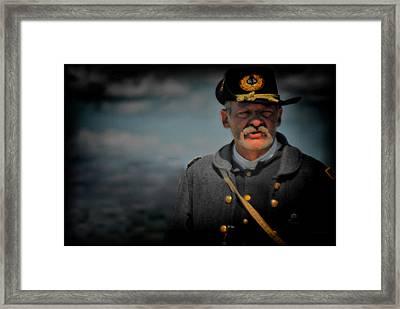 My Captain Framed Print