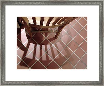 My Chair Framed Print