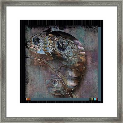 Chameleon - Vspgr01b Framed Print by Variance Collections