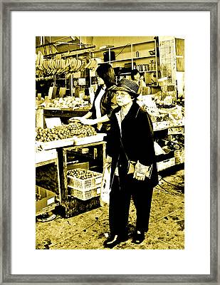My Chinatown Marketplace Framed Print