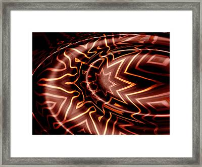 My Chocolate Reality Framed Print by Wendy J St Christopher