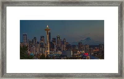 My City Framed Print