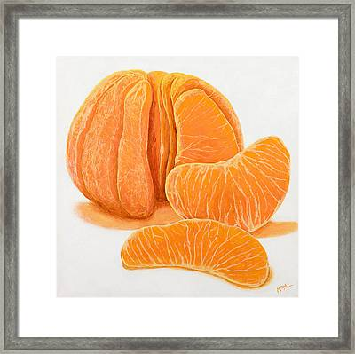 My Clementine Framed Print by Garry McMichael