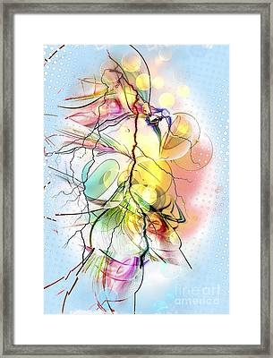 My Colors By Nico Bielow Framed Print
