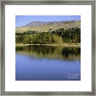 My Columbia River Framed Print