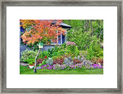 My Corner Of The World Framed Print by Kathleen Struckle