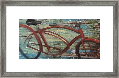My Cruiser II Framed Print by Vivian Mora
