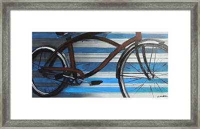 My Cruiser Framed Print by Vivian Mora