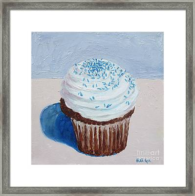 My Cup Cake Framed Print