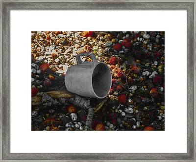 My Cup Falleth Over Framed Print