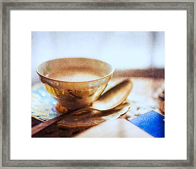 My Cup Of Tea Framed Print by Jon Woodhams