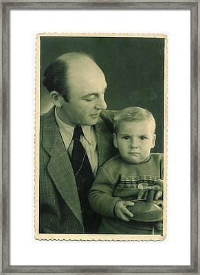 My Dad - My Angel Framed Print