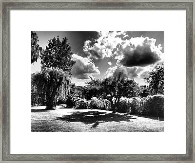 My Danish Garden Framed Print