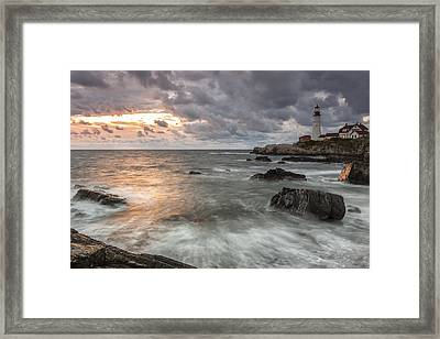 My Day Begins Framed Print by Jon Glaser