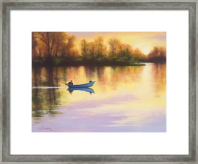 My Day With Dad Framed Print