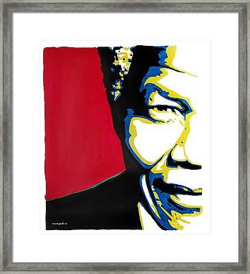 My Dear Nelson Mandela Framed Print