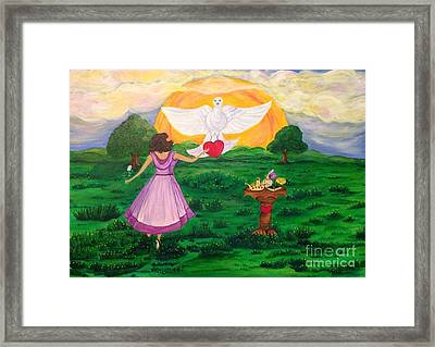 My Delight-songofsongs4-9-11 Framed Print by Michelle Bentham