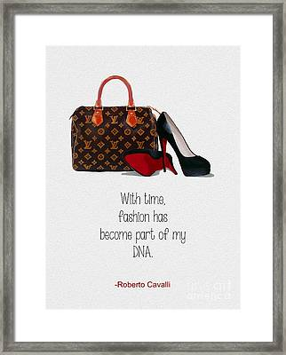 My Dna Framed Print by Rebecca Jenkins