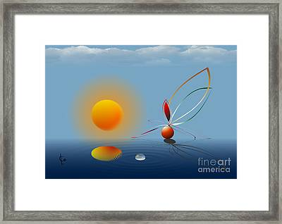 My Dream About Your Gift Framed Print