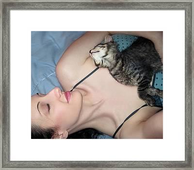 My Dream Catcher Framed Print by Jaeda DeWalt