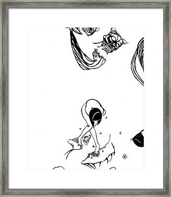 My Dream His Fantasy Her Nightmare. 68 - 100  Framed Print