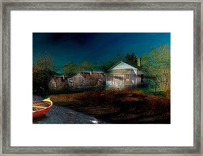 Framed Print featuring the photograph My Dream House by Gunter Nezhoda